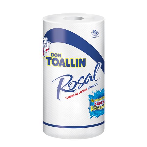 Toallas Don Toallin Rosal Rollo 80H