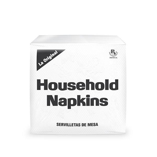 Household Napkins Servilletas de Mesa X120