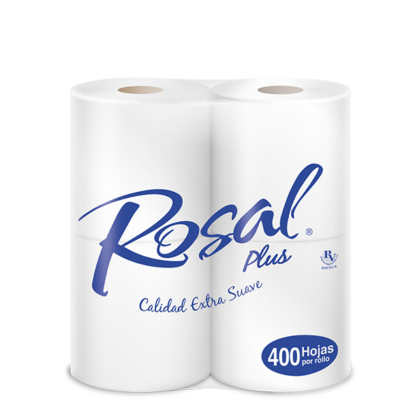 Rosal Plus Doble Hoja 400H X4